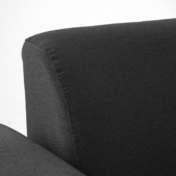 HEMLINGBY 2-seat sofa, Knisa dark grey