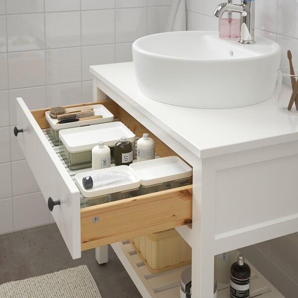 HEMNES / TÖRNVIKEN خزانة حوض مفتوحة مع حوض 45