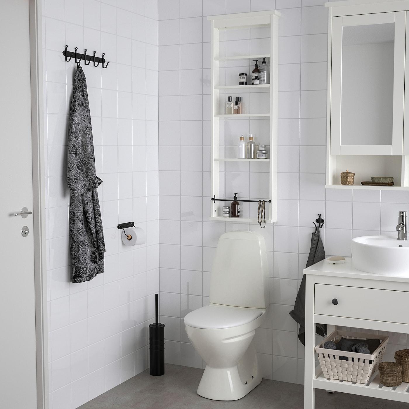 HEMNES Wall shelf, white, 42x118 cm