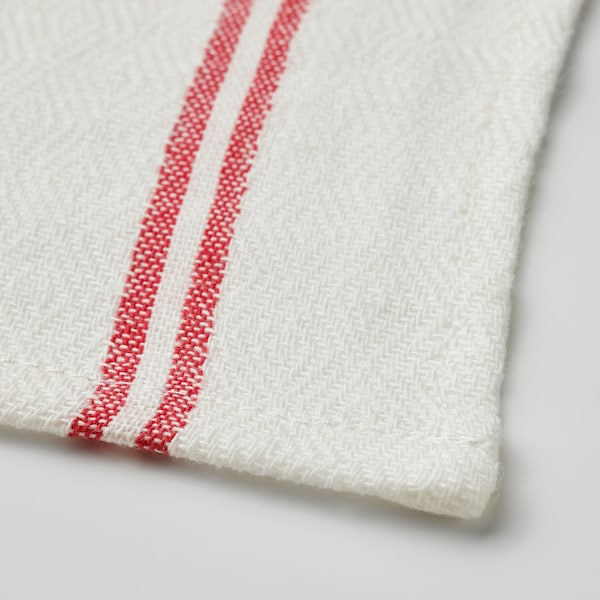 HILDEGUN منشفة شاي, أحمر, 45x60 سم