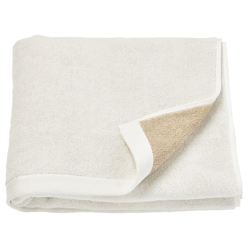 HIMLEÅN bath towel beige/mélange 500 g/m² 140 cm 70 cm 0.98 m²