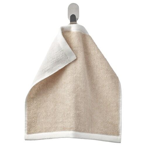 HIMLEÅN washcloth beige/mélange 500 g/m² 30 cm 30 cm 0.09 m²