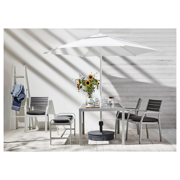 HÖGÖN مظلة, أبيض, 270 سم