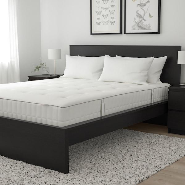 HOKKÅSEN مرتبة نوابض جيبية, صلبة أكثر/أبيض, 140x200 سم