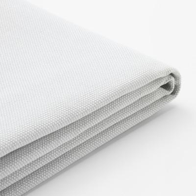 HOLMSUND غطاء لكنبة-سرير زاوية, Orrsta أبيض-رمادي فاتح