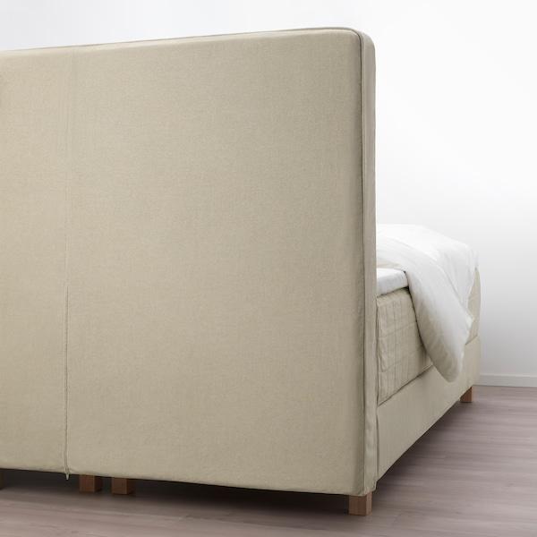 HOMMELVIK divan bed Hokkåsen medium firm/Tussöy natural 213 cm 180 cm 213 cm 130 cm 200 cm 180 cm