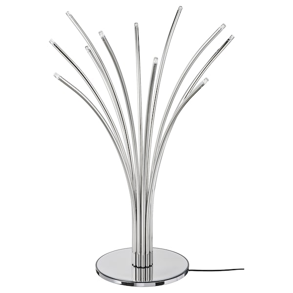 HOVNÄS Table lamp, chrome-plated