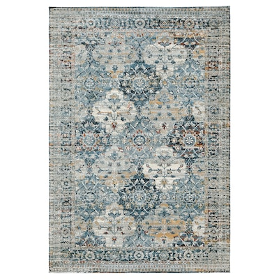 HVIDDING Rug, low pile, multicolour, 80x120 cm