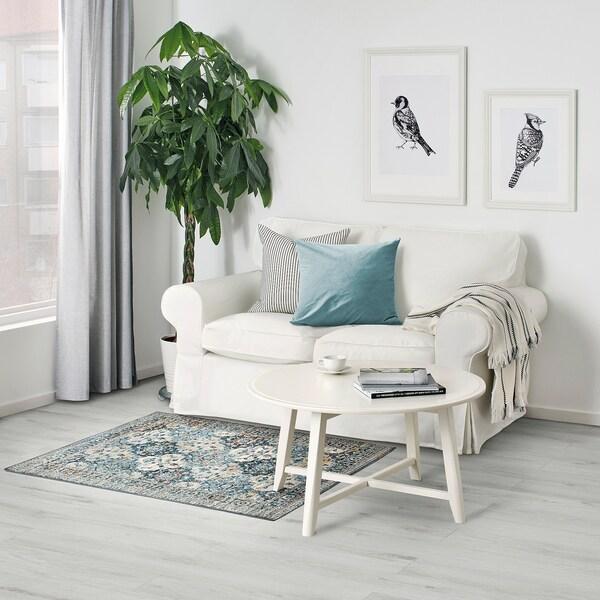 HVIDDING Rug, low pile, multicolour, 80x120 cm