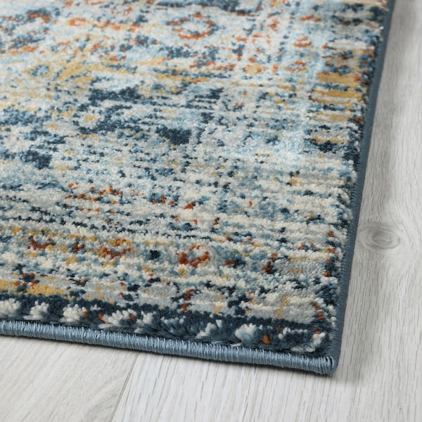 HVIDDING Rug, low pile, multicolour, 160x235 cm