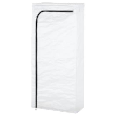 HYLLIS غطاء, شفاف داخلي/خارجي, 60x27x140 سم