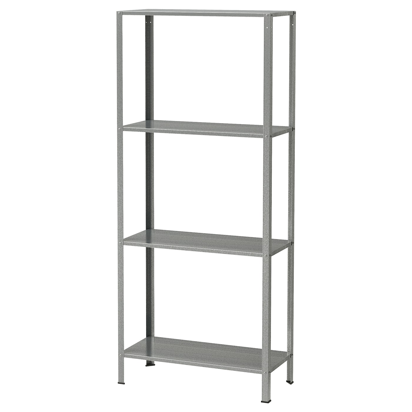 Shelving Unit Hyllis In Outdoor Galvanised
