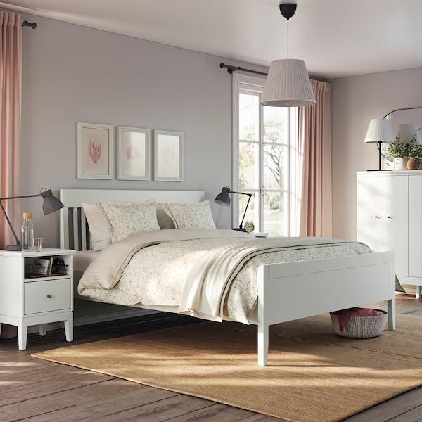 IDANÄS Bed frame, white, 140x200 cm