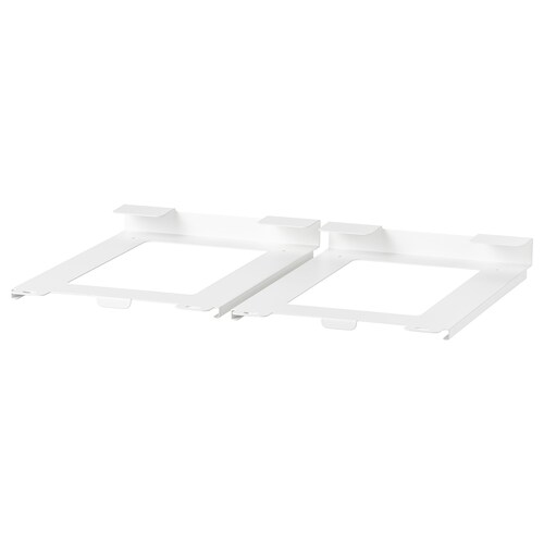IKEA 365+ holder for container white 15 cm 23 cm 3 cm 2 pack