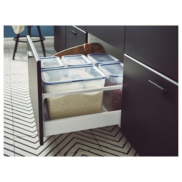 IKEA 365+ حاوية طعام مع غطاء, مستطيل/بلاستيك, 10.6 ل