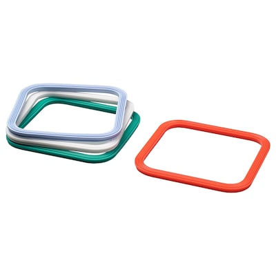 IKEA 365+ Gasket, square/mixed colours