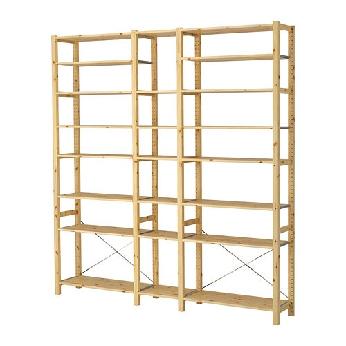 IVAR 3 sections/shelves IKEA