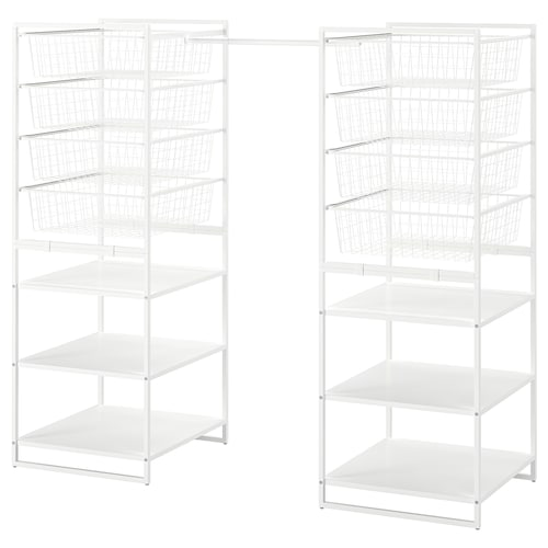 JONAXEL frame/wire baskets/clothes rails 142 cm 178 cm 51 cm 139 cm