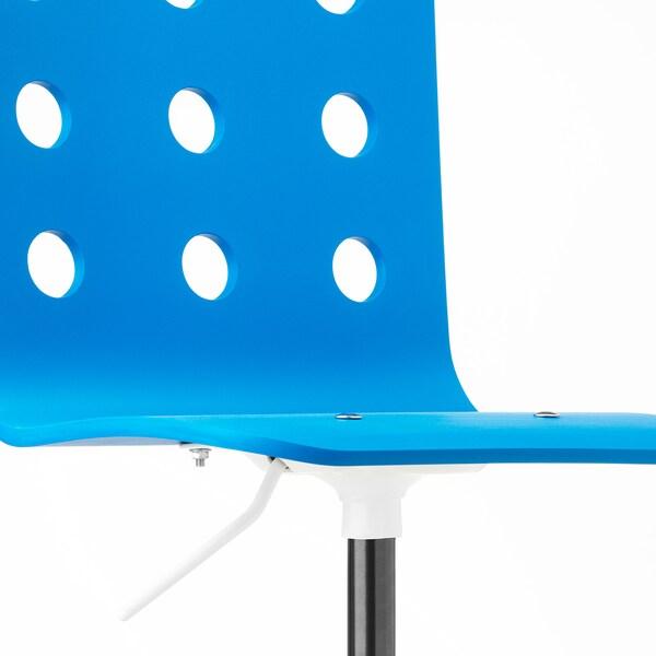 JULES كرسي مكتب أطفال, أزرق/أبيض