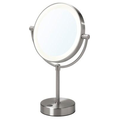 KAITUM مرآة مع إضاءة مدمجة, يعمل بالبطارية, 20 سم