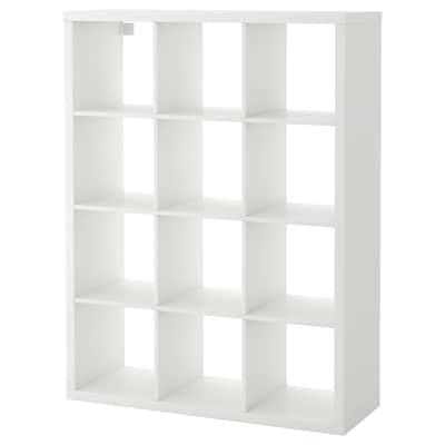 KALLAX Shelving unit, white, 112x147 cm
