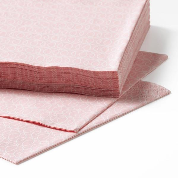KEJSERLIG مناديل ورقية, عدة ألوان, 33x33 سم
