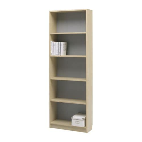 KILBY Bookcase IKEA 3 adjustable shelves; adjust spacing according to need.