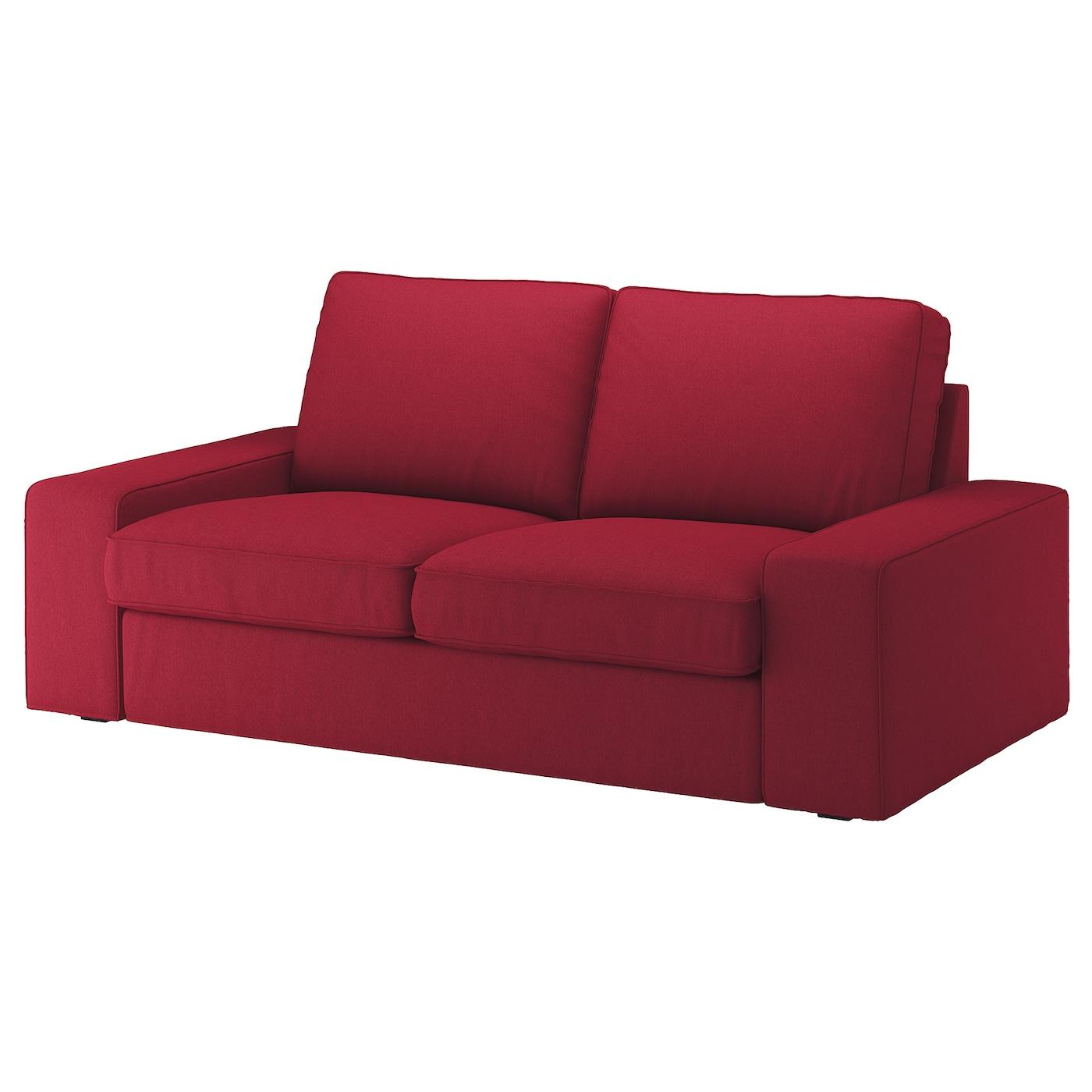 Kivik Two Seat Sofa Orrsta Red
