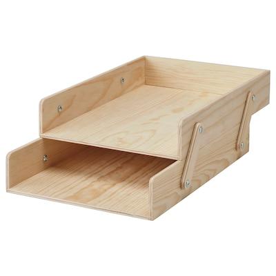 KLÄMMEMACKA Letter tray, natural plywood