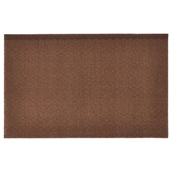 KLAMPENBORG Door mat, indoor, brown, 35x55 cm