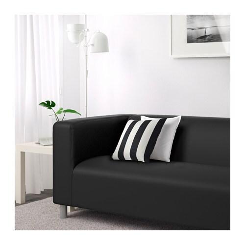 Klippan Two Seat Sofa Gran N Black Ikea
