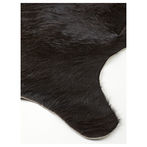 KOLDBY cow hide black 3.00 m²