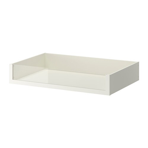 Ikea Udden Wandschrank Weiß ~ KOMPLEMENT Drawer with glass front IKEA 10 year guarantee Read about