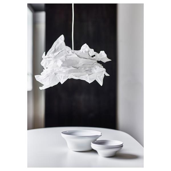 KRUSNING غطاء مصباح معلق, أبيض, 43 سم