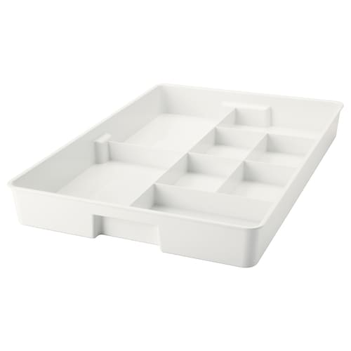KUGGIS insert with 8 compartments white 53 cm 36 cm 6 cm