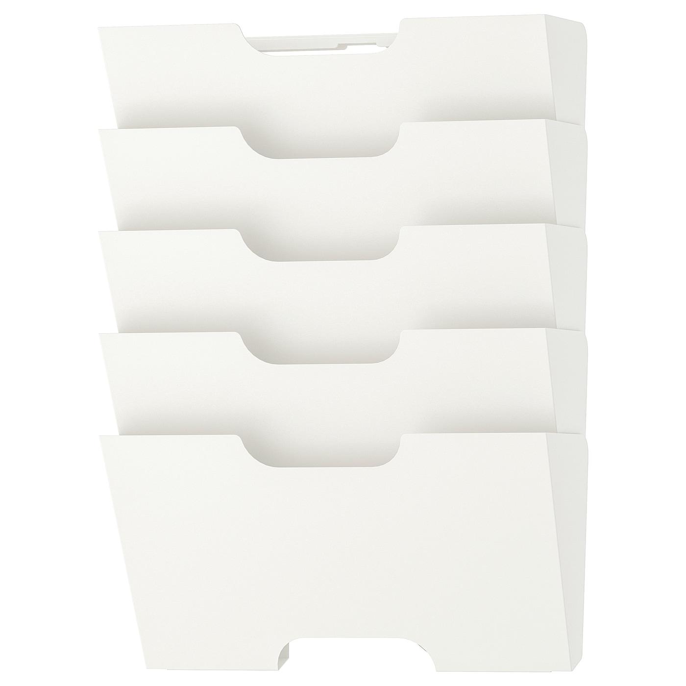 KVISSLE Wall newspaper rack - white