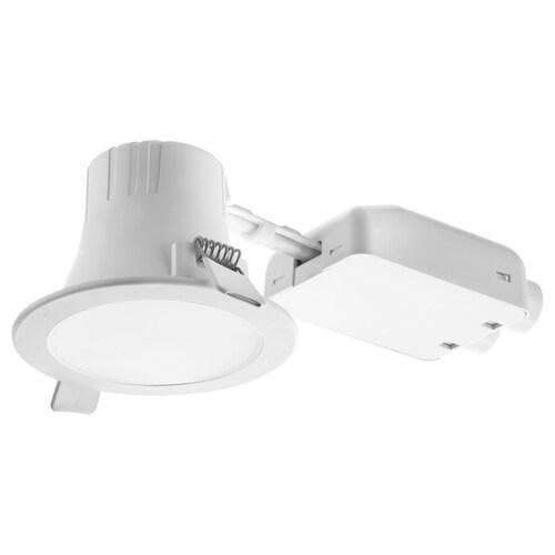 LAKENE LED recessed spotlight opal white 7.6 cm 3000 K 200 lm 6 cm 9 cm 4 W