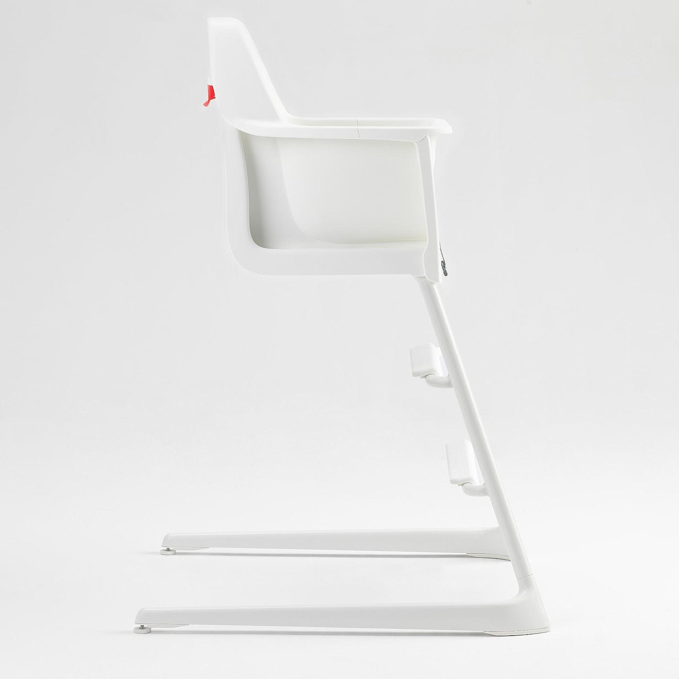 LANGUR كرسي صغير/عالي, أبيض
