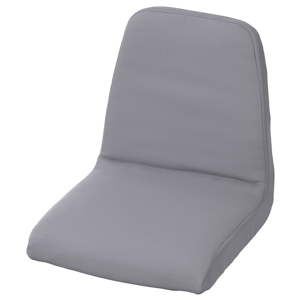LANGUR Padded seat cover for junior chair, grey