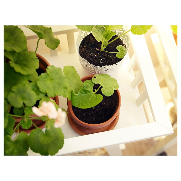 LANTLIV حامل نباتات, أبيض, 68 سم