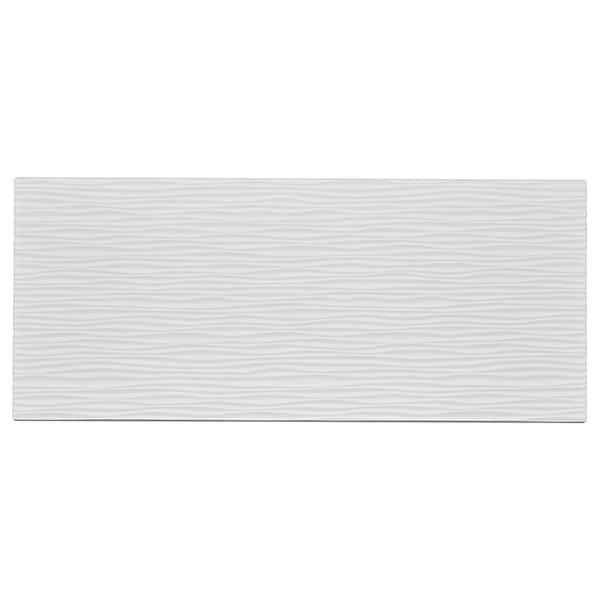 LAXVIKEN واجهة دُرج, أبيض, 60x26 سم