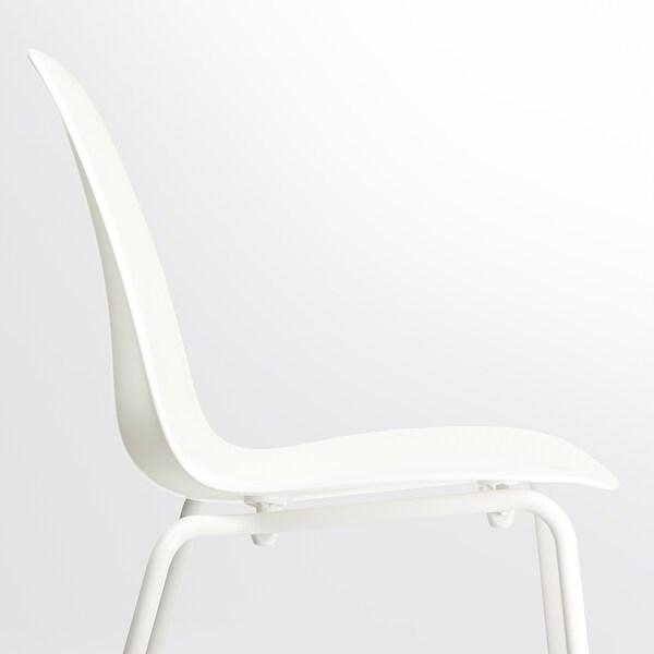 LEIFARNE كرسي, أبيض/Broringe أبيض