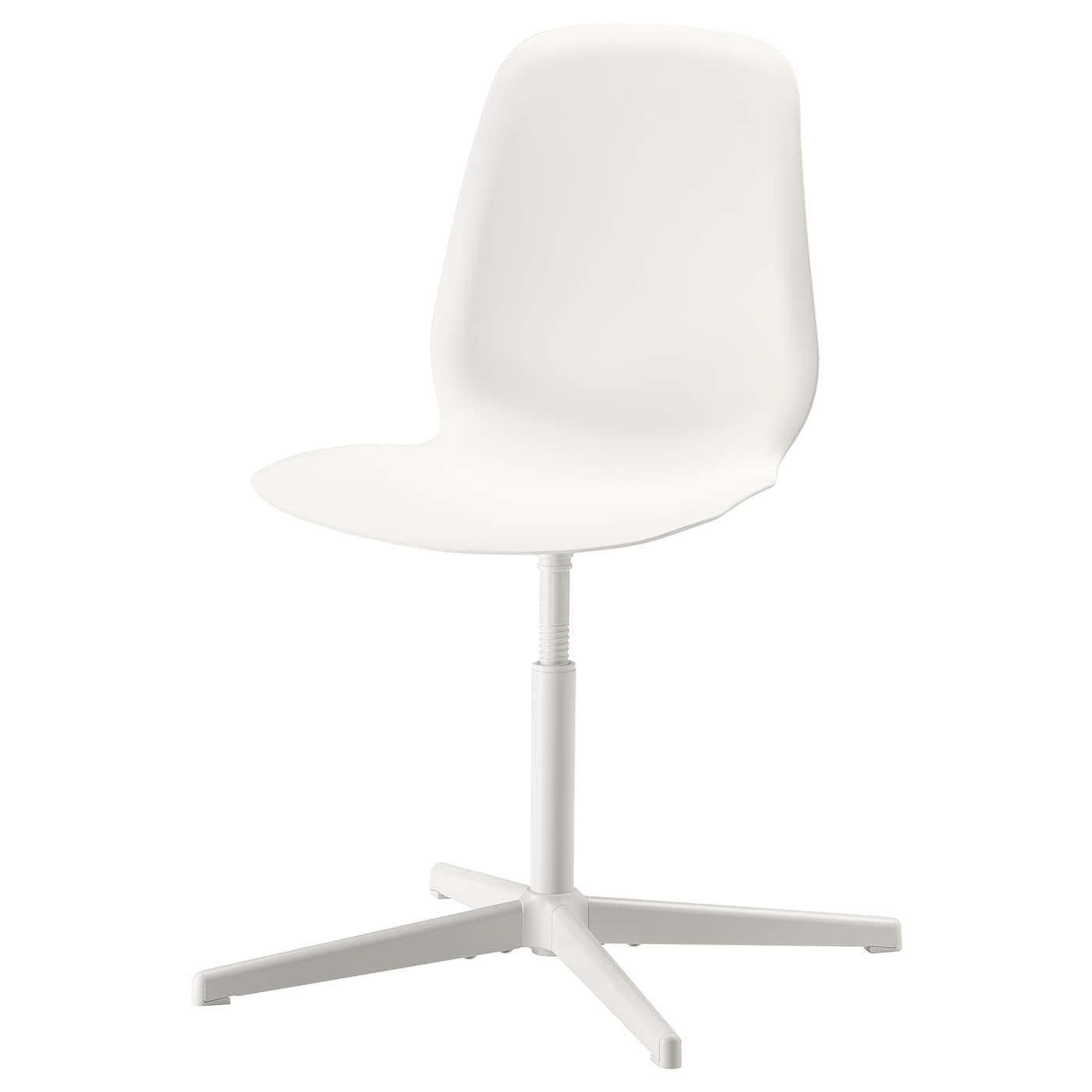 LEIFARNE Swivel chair - white/Balsberget white