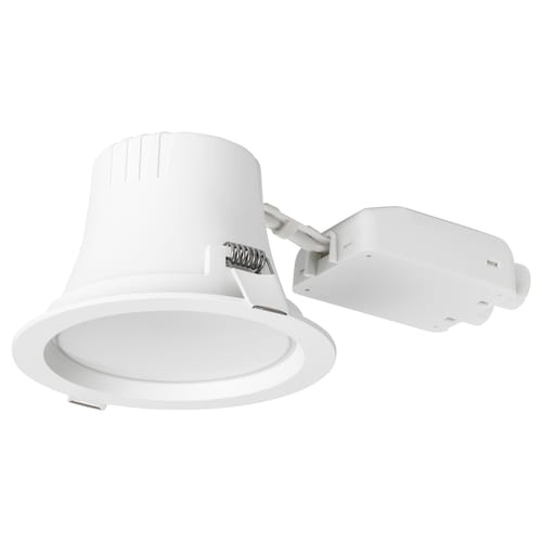 LEPTITER LED recessed spotlight dimmable/white spectrum 10 cm 600 lm 8 cm 12 cm 9 W