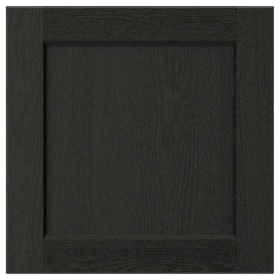 LERHYTTAN واجهة دُرج, صباغ أسود, 40x40 سم
