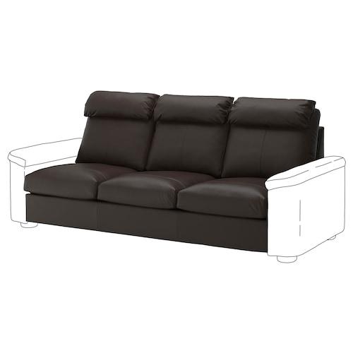 LIDHULT 3-seat section Grann/Bomstad dark brown 95 cm 74 cm 211 cm 98 cm 7 cm 211 cm 58 cm 42 cm