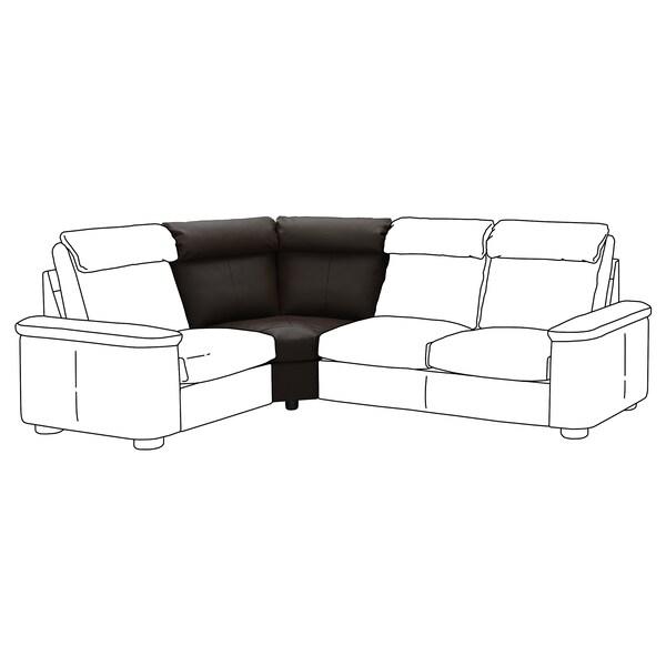 LIDHULT corner section Grann/Bomstad dark brown 95 cm 74 cm 110 cm 98 cm 7 cm 42 cm