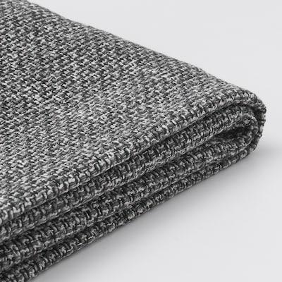 LIDHULT Cover f open end section w storage, Lejde grey/black
