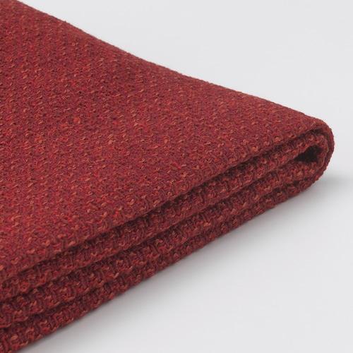 LIDHULT cover for armrest Lejde red-brown 1 pack