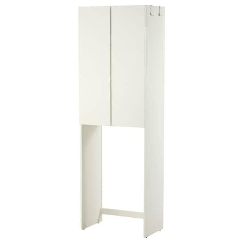 LILLÅNGEN cabinet for washing machine white 64 cm 38 cm 195 cm 92 cm